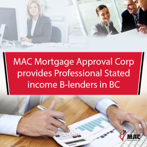 Stated income B-lenders in BC